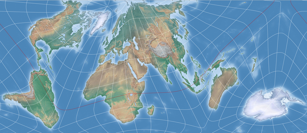 An equal area projection in the fashion of the authagraph map i gumiabroncs Image collections